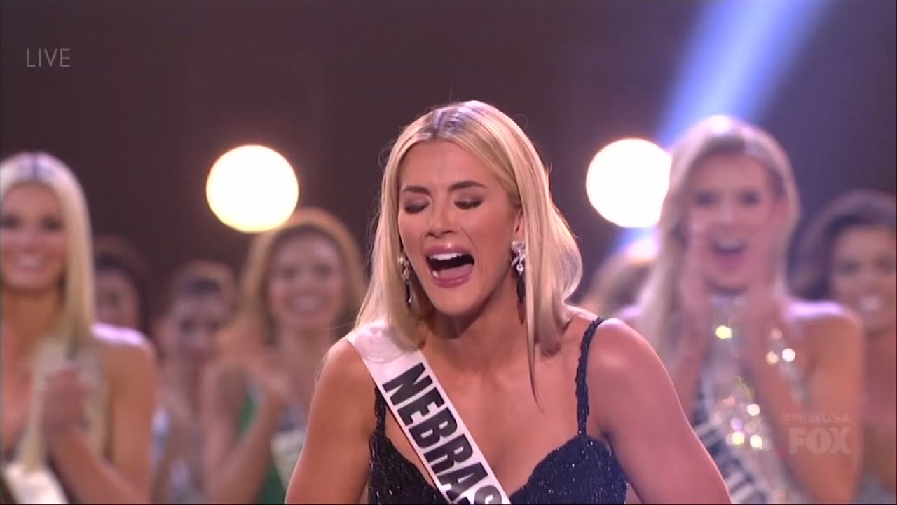 Miss USA's crowning glory