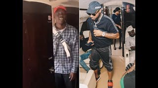 Davido Removes His Camera Man From His Private Jet On Christmas Day For Using The Toilet