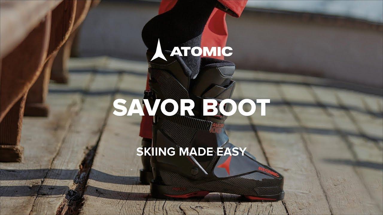 Atomic Savor 100 Mens Rear Entry Ski Boots