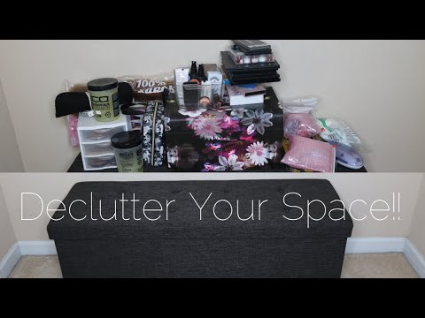 How to Organize Your Room | Makeup + Hair Product Storage | Flawhs