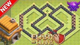 NEVER SEEN BEFORE BEST Th5 Trophy/War Base - Anti-Everything, 2016 Hybrid Christmas Update (Xmas)