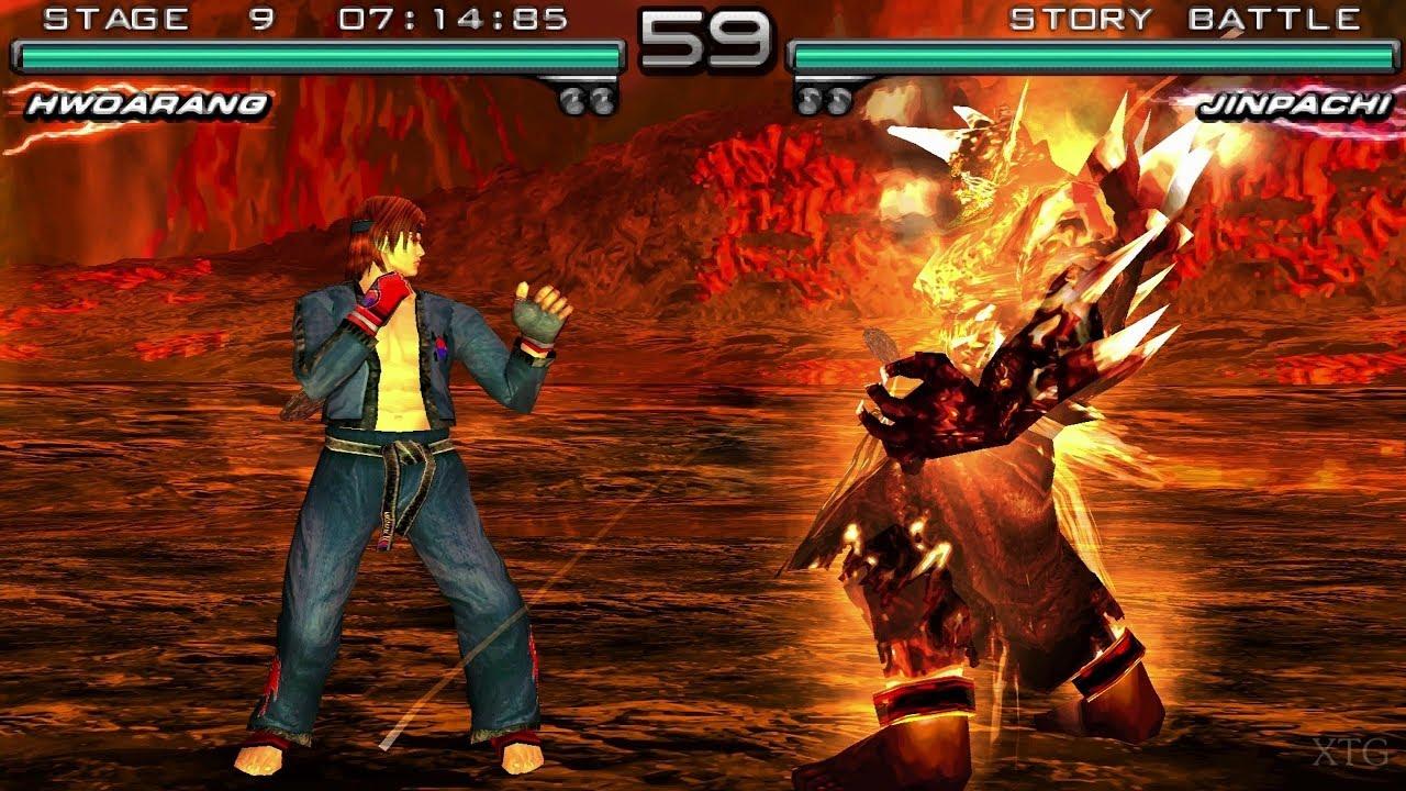 Tekken 5 Dark Resurrection Psp Gameplay Hd Ppsspp Youtube