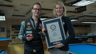 Guinness World Record Breaking Pool Shots | Venom Trick Shots
