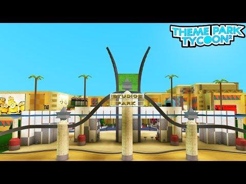 MOVIE STUDIO PARK in Theme Park Tycoon 2!! (Roblox)  