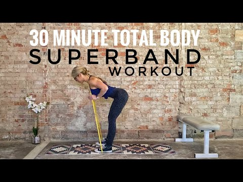 30 Minute Total Body Superband Workout
