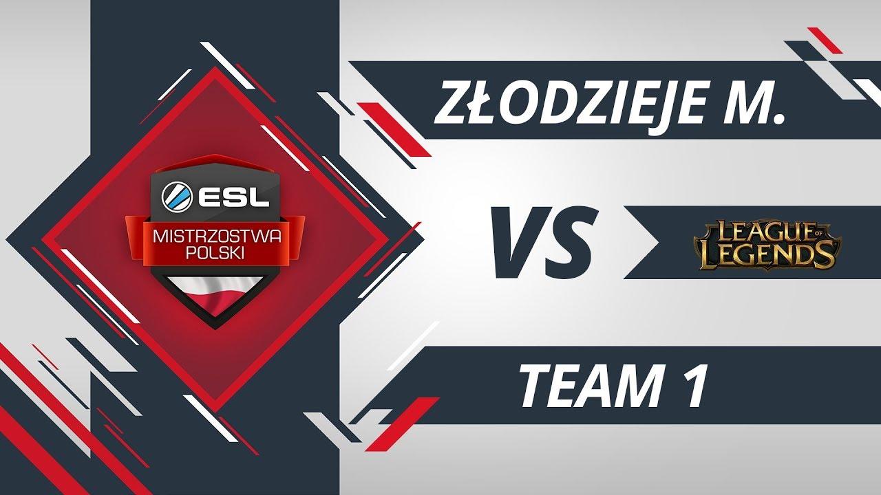 Złodzieje Monitorów vs Team 1 | EMP LoL W6D2 Gra #1