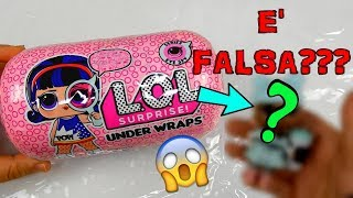 LA LOL SURPRISE UNDER WRAPS COMPRATA DA AMAZON E' FALSA? Iolanda Sweets