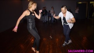 Jimmy Yoon & Maria Fernanda Krupholter Salsa Dance - SOS Stuckie Awards (3.19.16)