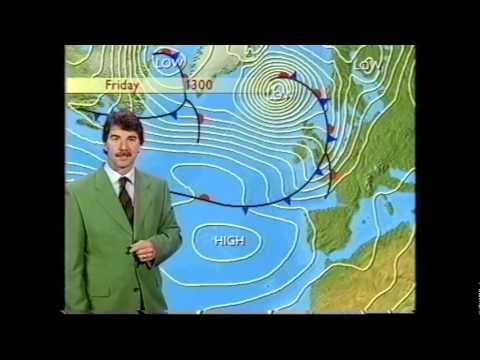 BBC Weather 4th October 1998