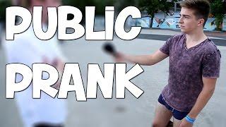 Public Pranking w/ Mantrousse!