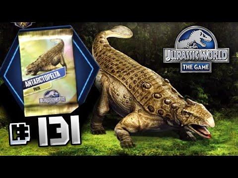 Full Antarctopelta Event! || Jurassic World - The Game - Ep 131 HD