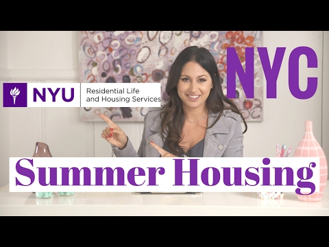 How to Find Summer Housing in NYC!   The Intern Queen - YouTube