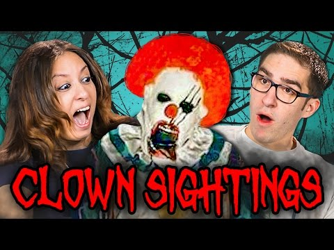 Thumbnail: PARENTS REACT TO CREEPY CLOWN SIGHTINGS COMPILATION