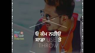 Thirsty Crow | Maud | Punjabi Whatsapp Status | Latest Punjabi Song 2019 | Punjabi Status