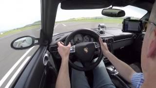 1400 hp 9ff 911 GTronic - 0-300 km/h Acceleration