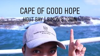 Cape of Good Hope, Hout Bay, & Simon's Town Raw Vlog   Travel Vlog 004