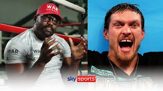 """I am NOT going to lose to Usyk!"" 