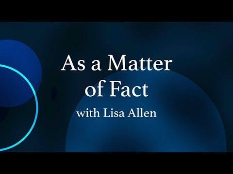 As A Matter Of Fact: Bob Hugin