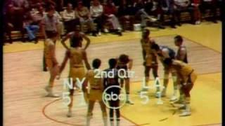 1972 NBA Finals: Knicks at Lakers, Gm 5 part 6/11
