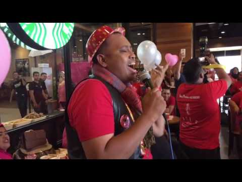 Video Kelakar Hazami Nyanyi MUNGKIR BAHAGIA di Party Hari Jadi DJ Lin Suria Cinta