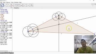 Tutorial Menggambar Lingkaran Dalam dan Luar Segitiga