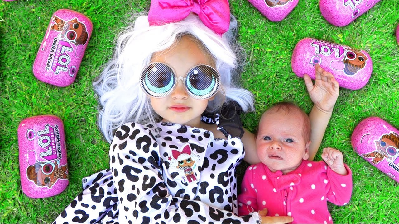 14680d2e95a8 Maya Dress Up   LOL Surprise Dolls - YouTube