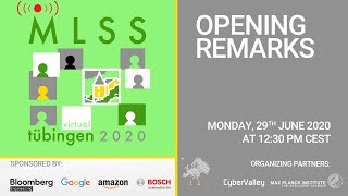Virtual Mlss 2020  Opening Remarks