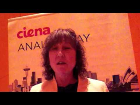 Eve on the road - Ciena Analyst Day NYC 2012