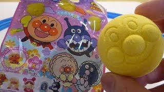 アンパンマンバスボール☆なにがでる・お花畑のかおり☆おもちゃ【玩具】