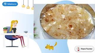 Салат Гранатовый браслет с сыром Домашние рецепты пошагово с фото