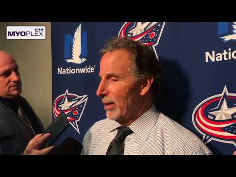 Post game: John Tortorella 1/8/18