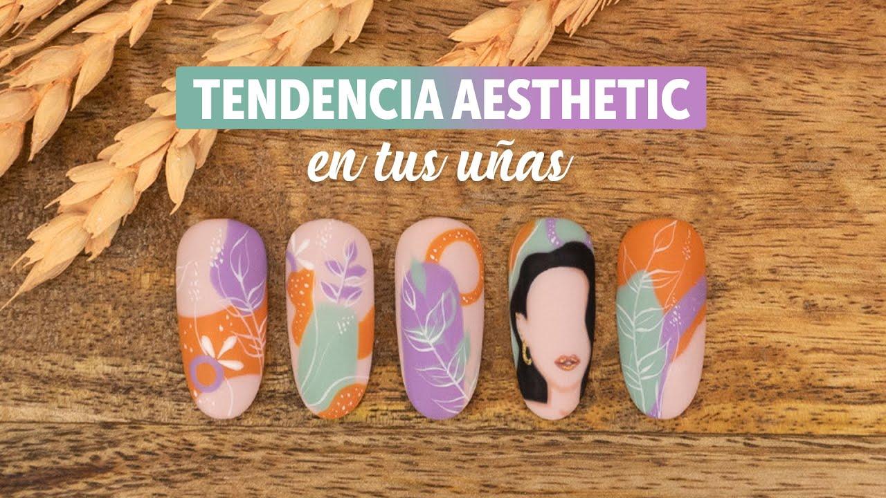 La tendencia aesthetic en tus uñas | Manicura24