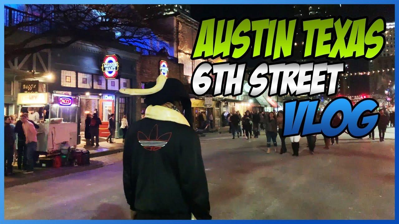 Austin Texas 6th Street Fight 4/18/14 - YouTube