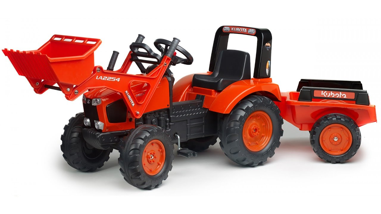 Loader Pedal Tractor, Ride On Tractor For Kids - YouTube