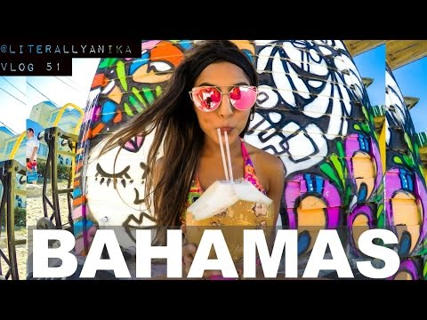 THE BEST COCONUTS IN THE BAHAMAS (TRAVEL VLOG)