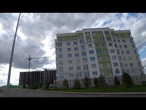 Осмотр квартир в новостройке. Лесная Поляна. 4K
