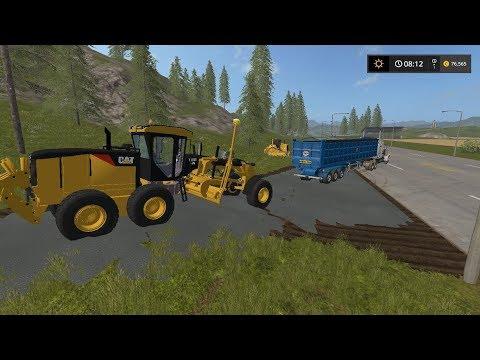 Laying asphalt | Lawn Care | Farming Simulator 2017 | Episode 14