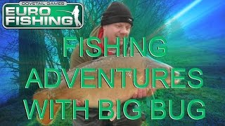 Euro Fishing | Catching A 50lbs Boss Fish Called Snake (PS4)