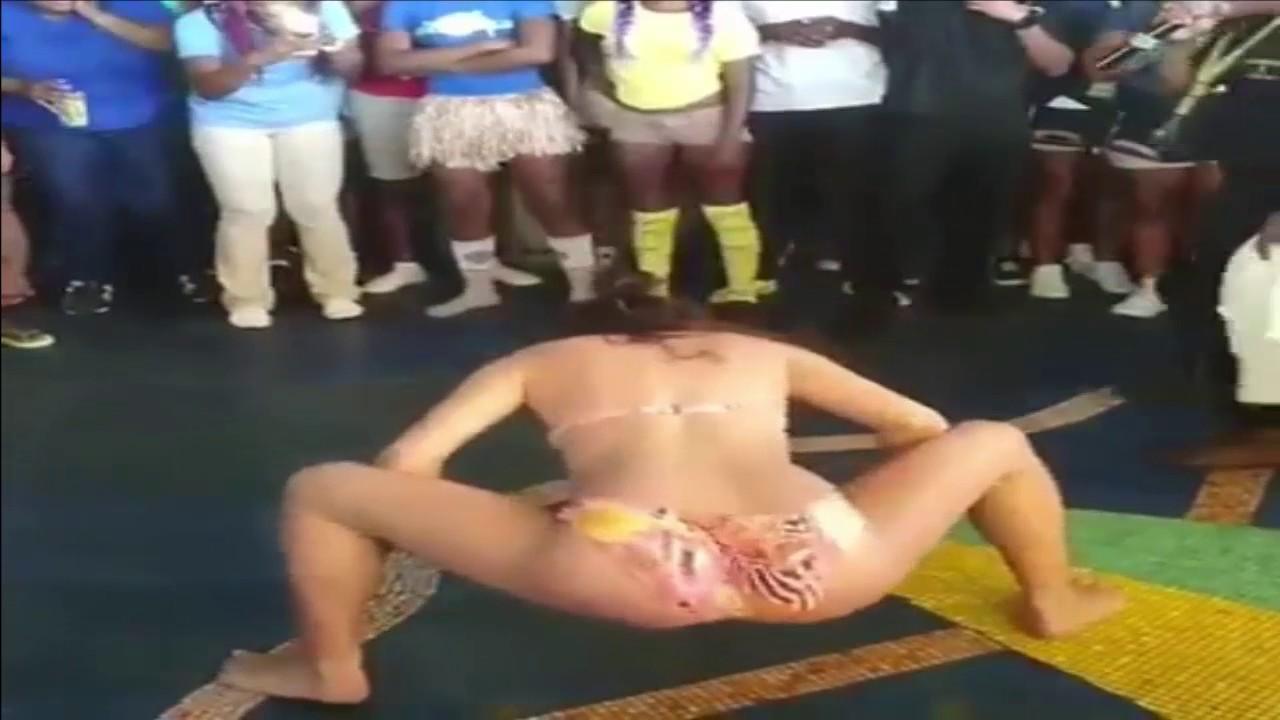 White Girl Wins Twerking Contest