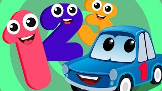 Zeek And Friends | ten little numbers | car song | rhymes for children