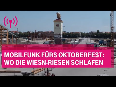 Social Media Post: Mobilfunk fürs Oktoberfest: Wo die Wiesn-Riesen schlafen