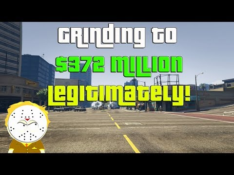 GTA Online Grinding to $372 Million Legitimately And Helping Subs