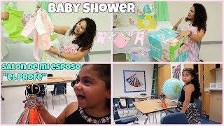 Me hicieron un baby shower! 🤰🏻regalos para mis niñas🎁-MaggieVlogs