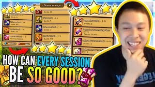 NAT 5 Blessing Popped! Left Or Right?! - ALL Accounts Good Sessions?! - Summoners War