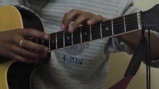 kaun mera guitar  || M tv unplugged version || guitar solo ||