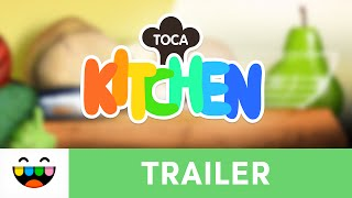 Time To Cook | Toca Kitchen | Gameplay Trailer | @TocaBoca