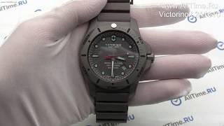 Обзор. Швейцарские титановые наручные часы Victorinox 241810