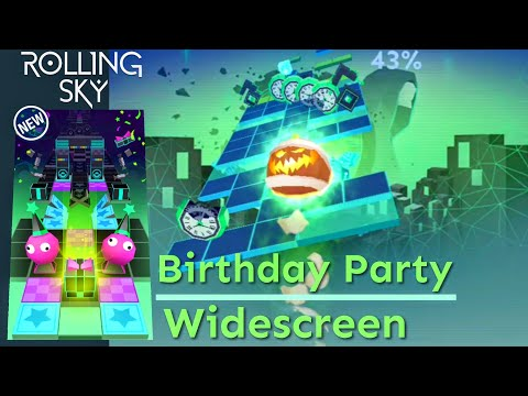 Rolling Sky - Birthday Party (Want To Learn To Play In Widescreen Mode)
