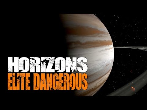 Elite: Dangerous Horizons - Tour of The Sol System (Home of Earth) with Landings