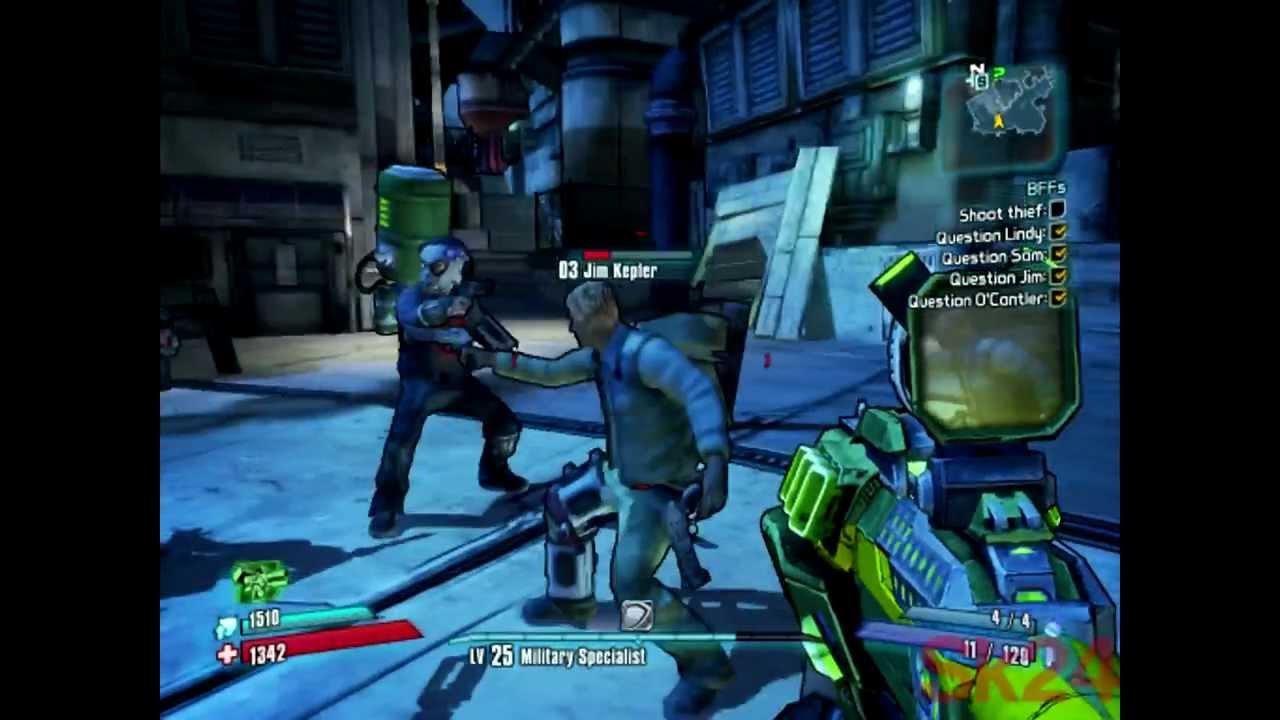 Borderlands 2: BFFs Quest Answered - YouTube Borderlands 2 Bffs